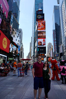 Mike and Claire visit - June 2015  .  Times Square - // DSC00054