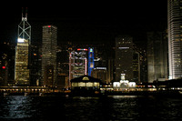 Harbour views from the Star Ferry.   Hong Kong harbour.